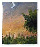 Sc Sunset  Fleece Blanket