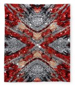 Scarlet Entanglement Fleece Blanket