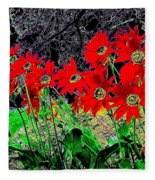 Scarlet Night Fleece Blanket