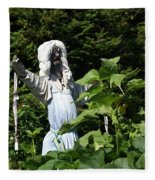 Scary Scarecrow Fleece Blanket