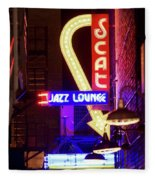 Scatt Jazz Lounge 030318 Fleece Blanket