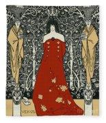 Scene From Tannhauser By Richard Wagner Fleece Blanket