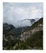 Scenery Fleece Blanket