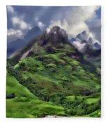 Scenic Glen Coe Fleece Blanket