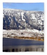 Scenic Oyama Fleece Blanket