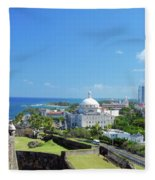 Scenic View Fleece Blanket