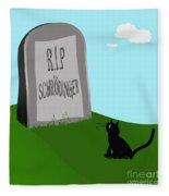 Schoedingers Cat 1 - Schroedinger 0 Fleece Blanket