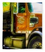 Schoenecker Trucking Fleece Blanket