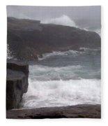 Schoodic Point Fleece Blanket