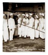 School For Bakers Presidio Of Monterey October 1915 Fleece Blanket