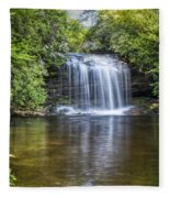 Schoolhouse Falls Fleece Blanket