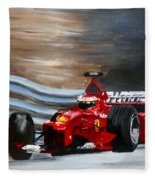 Schumacher Monaco Fleece Blanket