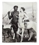 Schutzenberger Centaurs Fleece Blanket