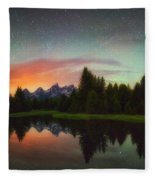 Schwabacher Heavens Fleece Blanket