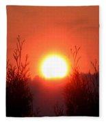Scorching Sun Fleece Blanket