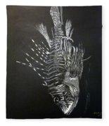 Scorpion Fish Fleece Blanket