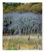Scorton Creek Treeline Fleece Blanket