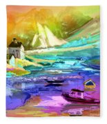 Scotland 15 Fleece Blanket