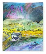 Scotland 21 Fleece Blanket