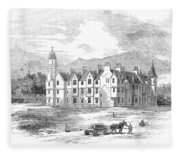 Scotland: Balmoral Castle Fleece Blanket