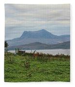 Scotland Landscape IIi Fleece Blanket