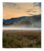 Scotland Mist In Widescape Fleece Blanket