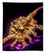 Scorpion Shell Fleece Blanket