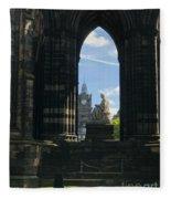 Scott Monument Fleece Blanket