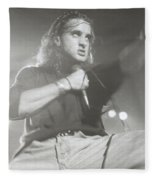 Scott Stapp Of Creed Fleece Blanket