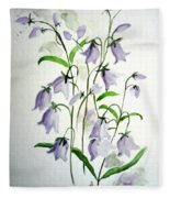 Scottish Blue Bells Fleece Blanket