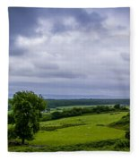 Scottish Countryside 1 Fleece Blanket