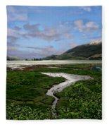 Scottish Highlands Fleece Blanket
