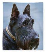 Scottish Terrier Dog Fleece Blanket