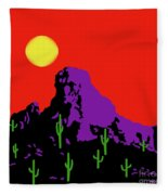 Scottsdale Mountain Fleece Blanket