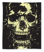Scream Fleece Blanket