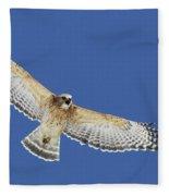 Screaming Hawk Fleece Blanket