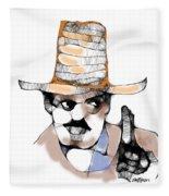 Scribbler Cowboy Fleece Blanket