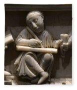 Scribes, 10th Century Fleece Blanket