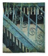 Scrolled Staircase By H H Photography Of Florida Fleece Blanket