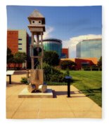 Sculpt Siouxland - Sioux City Fleece Blanket