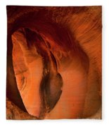 Sculpted By The Elements Fleece Blanket
