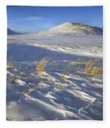 Sculpted By The Wind Fleece Blanket