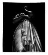 Sculpture Fleece Blanket