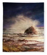 Sea Drama Fleece Blanket