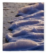 Sea Foam Fleece Blanket