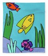 Sea Frolic Fleece Blanket