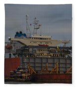 Sea Going Work Fleece Blanket