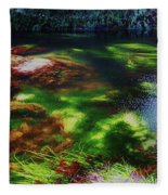 Sea Grass Fleece Blanket