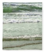 Sea Green Fleece Blanket