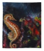 Sea Horses Fleece Blanket